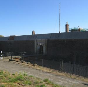 Landguard Fort at Felixstowe