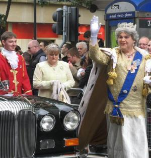 The Queen visits Manchester Pride Parade