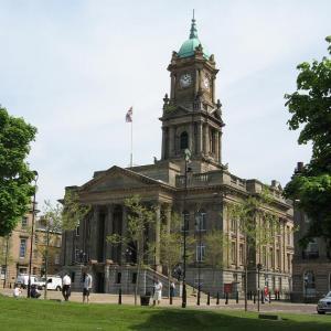 The Wirral Museum around Hamilton Square