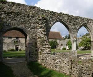 Abbey Ruins at Beaulieu
