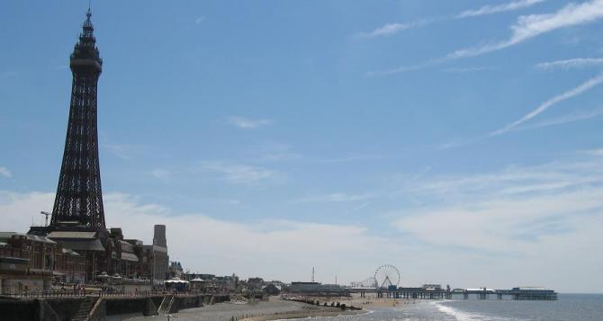 Blackpool Tower & Central Pier