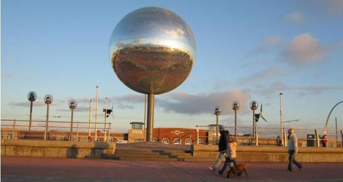 Blackpool South Shore Promenade Sculptures