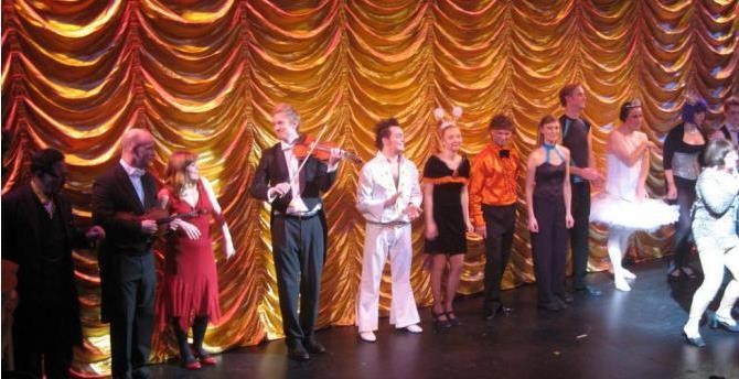 Variety Show at The Grand Theatre Blackpool