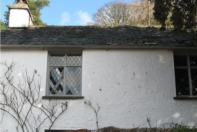 Wordsworth's Dove Cottage in Grasmere