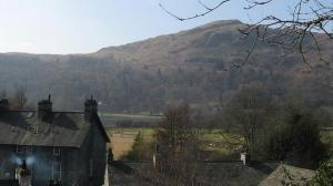 Views of Silver Howe from Dove Cottage