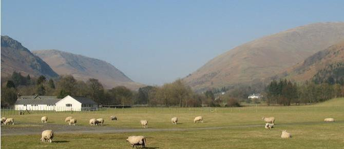 The Crags and Fells surrounding Grasmere