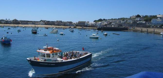 Boat trips around the Isles of Scilly
