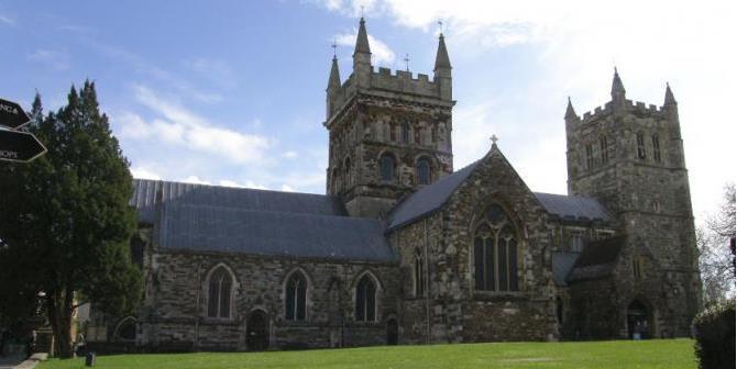 Wimborne Minster Church