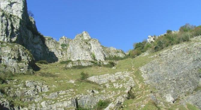 Cheddar Gorge Views from the Bus Tour