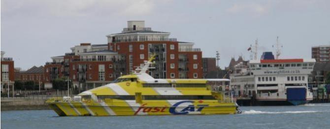 Portsmouth - Ryde Catamaran