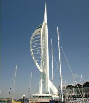Spinnaker Tower on Portsmouth Waterfront - Britain On View