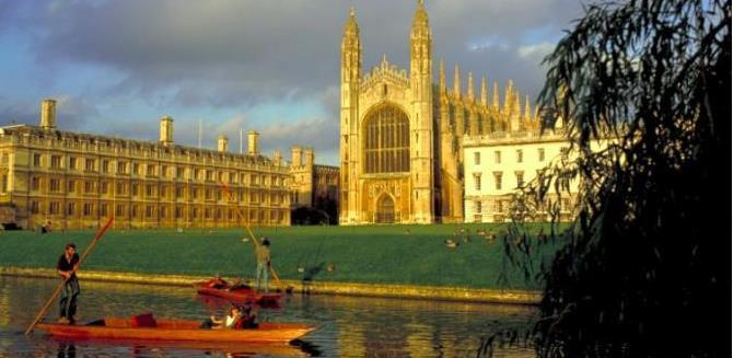 King's College Chapel - The Backs of the colleges - Britain on View