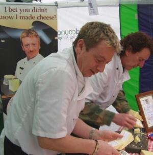 Saddleworth Cheeses at the Wakefield Food Festival