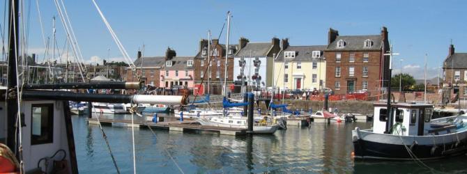 Head to Arbroath Harbour to sample the famous Arbroath Smokies!