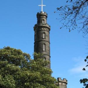 Edinburgh Monuments on Carlton Hill
