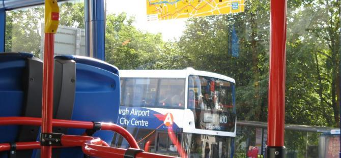 Edinburgh has great value transport links from the periphery into the city centre