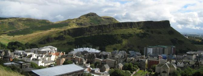 Take a walk up Arthur's Seat for fantastic views of the city