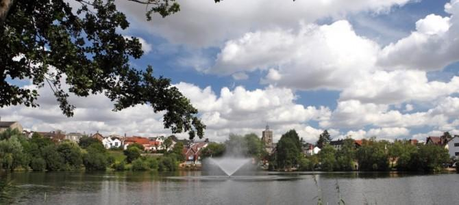 Diss Mere - a naturally formed six acre lake