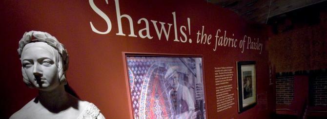 Paisley Museum Interior - shawl gallery