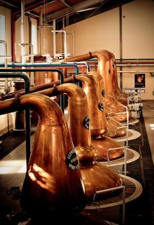 Stills room at Glenfiddich
