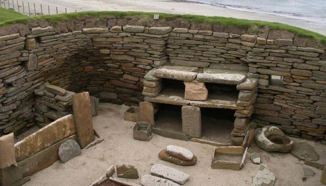Skara Brae dwelling