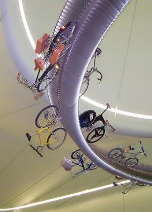 Suspended bikes