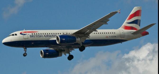 Flight into Aberdeen