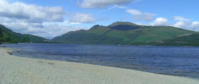 Loch Lomand, Central Scotland