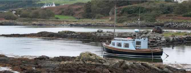 The calm of Gigha