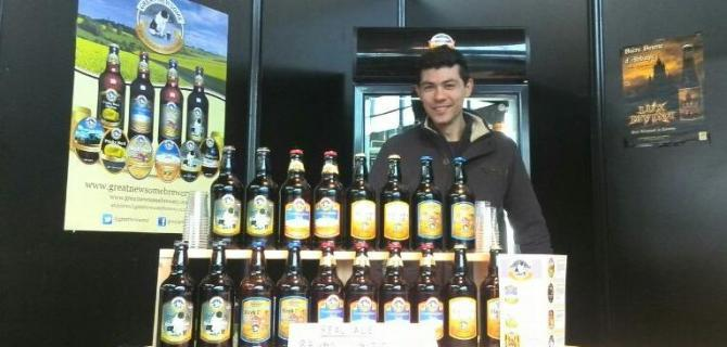 Great Newsome Brewery Beers on Display at RHEX 14 in Italy