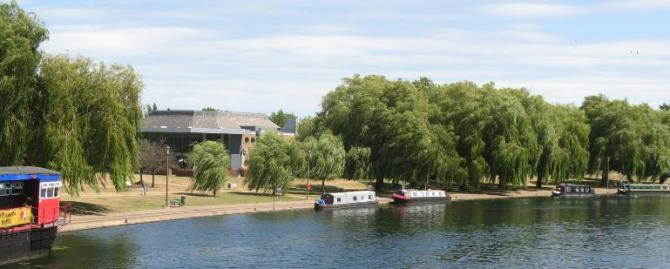 River Nene at Peterborough