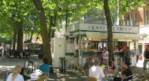 Alfresco cafes in Peterborough city centre