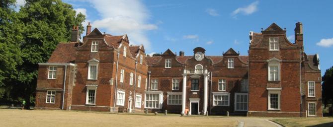 Tudor Christchurch Mansion, Ipswich