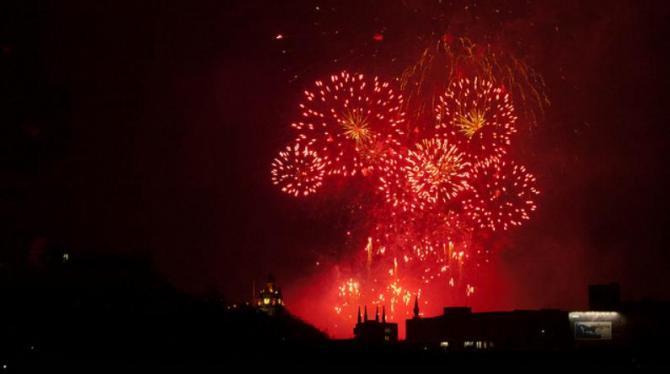 Hogmany Fireworks