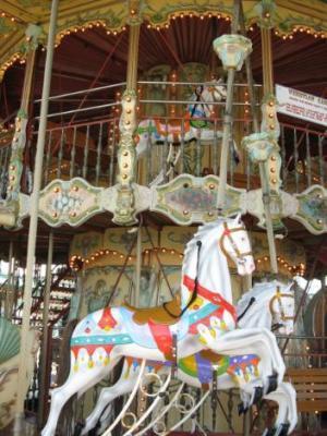Venetian Carousel on North Pier