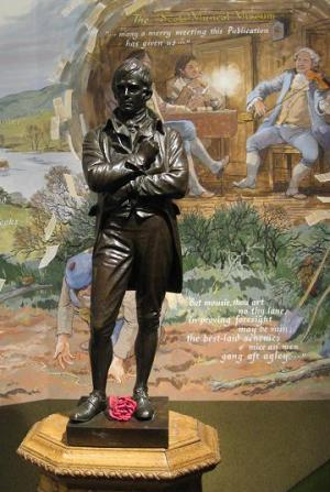 Burns Statue at the Museum