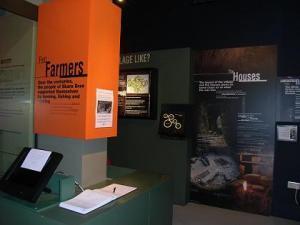 Inside Skara Brae Visitor Centre