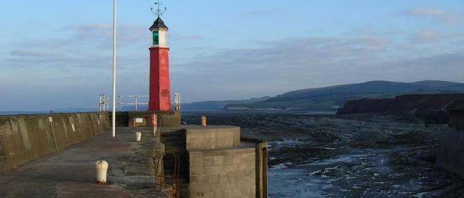 Watchet Bay Lighthouse