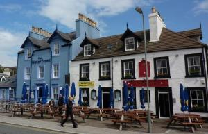 Portpatrick harbour front buildings – near Stranraer