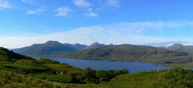 Torridon Hills over Loch Maree