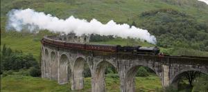 Glenfinnan viaduct on the West Highland line