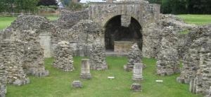 St Augustine's Abbey ruins Canterbury