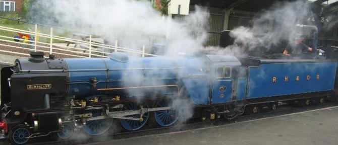 The Romney, Hythe & Dymchurch Railway