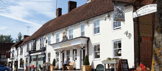 Heritage coaching inns at Lenham