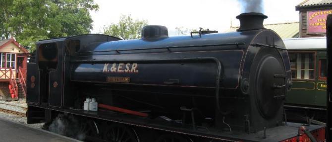 Kent & East Sussex Railway - Tenterden Town Station
