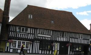 Tenterden's old timber-framed heritage buildings