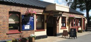 Tenterden Town Station, main centre for the Kent & East Sussex Railway