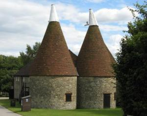 Oast Houses at Kent Life near Maidstone