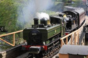 The nearby Llangollen Railway
