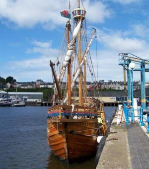 Tall ship in Milford Haven